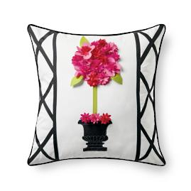 Topiary Outdoor Pillow