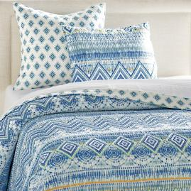 Aquataine Quilt and Shams