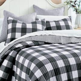 Kipton Buffalo Check Quilt and Shams