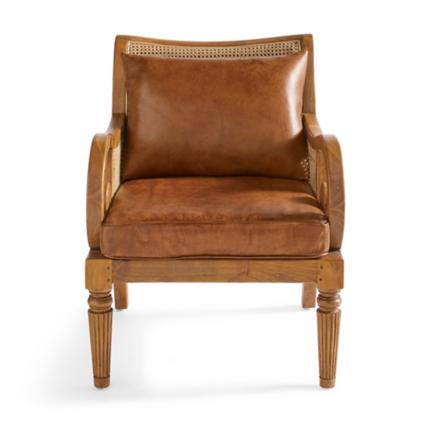 Bermuda Teak Chair & Ottoman   Grandin Road