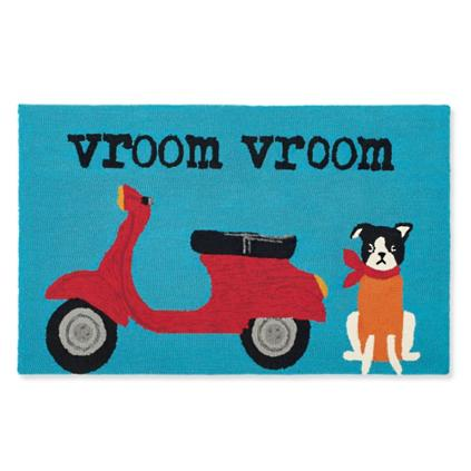 Vroom Vroom Pet Door Mat