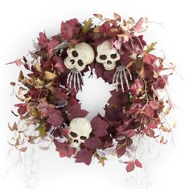 Haunted Graveyard Wreath