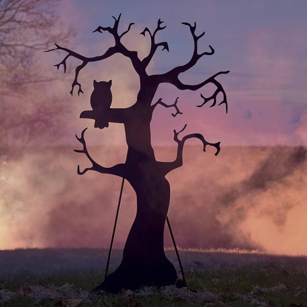 Silhouette Spooky Tree