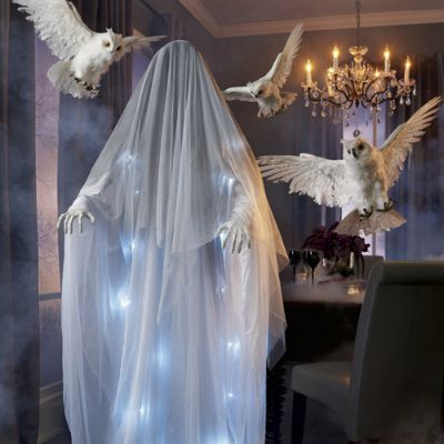Shimmer Ghost Lady Grandin Road