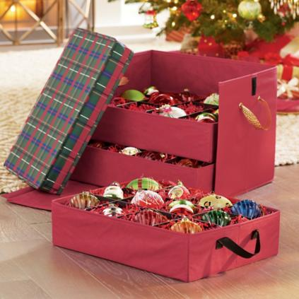 cyndi lauper ornament storage box - Christmas Decoration Storage Box