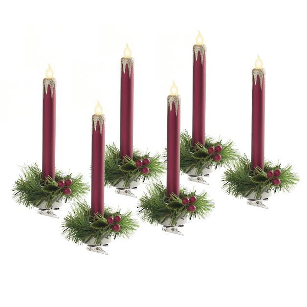 Cyndi Lauper Clip-on Candle Lights, Set of Six - Cyndi Lauper Clip-on Candle Lights, Set Of Six Grandin Road