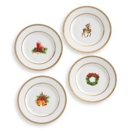 Cyndi Lauper Dessert Plates, Set of Four