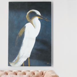 White Heron Artwork I