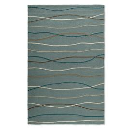 Ocean Waves Outdoor Rug