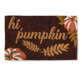 Hi Pumpkin Coir Door Mat