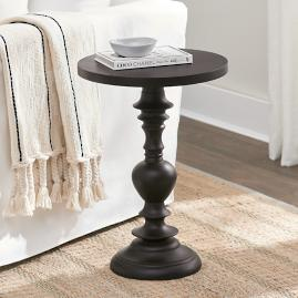 Carved Accent Tables - Brown