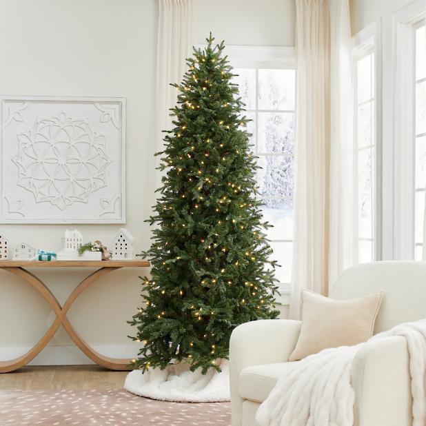 Slim Christmas Tree.Classic Slim Christmas Tree