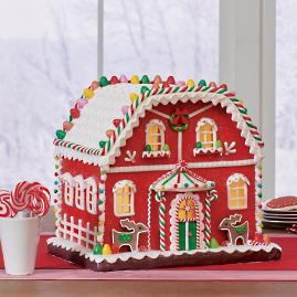 Gingerbread Houses with LEDs