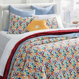 Ditsy Floral Quilt and Shams