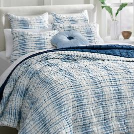 Ruched Waves Quilt and Shams