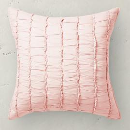 Ashlyn Ruched Cotton Euro Sham