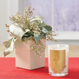 Lux Holiday Candle, Frankincense & Myrrh