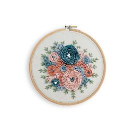 Bouquet Embroidery Hoop