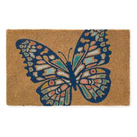 Butterfly Coir Door Mat