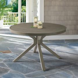 Bridgeport Round Trestle Dining Table