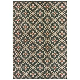 Arwen Grey Trellis Outdoor Rug