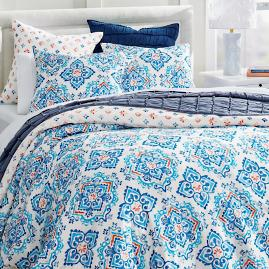 Gianna Medallion Duvet & Shams