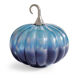 Iridescent Pumpkin with Lights