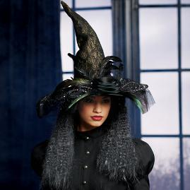 Katherine's Collection Deluxe Witch Hat