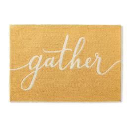 Gather Expression Hooked Mat
