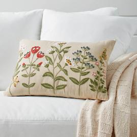 Gianna Embroidered Pillow