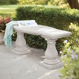 Elle Baluster Bench