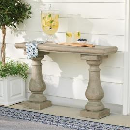 Elle Baluster Console Table
