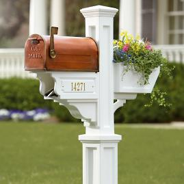 Signature Plus Mail Post & Mailbox