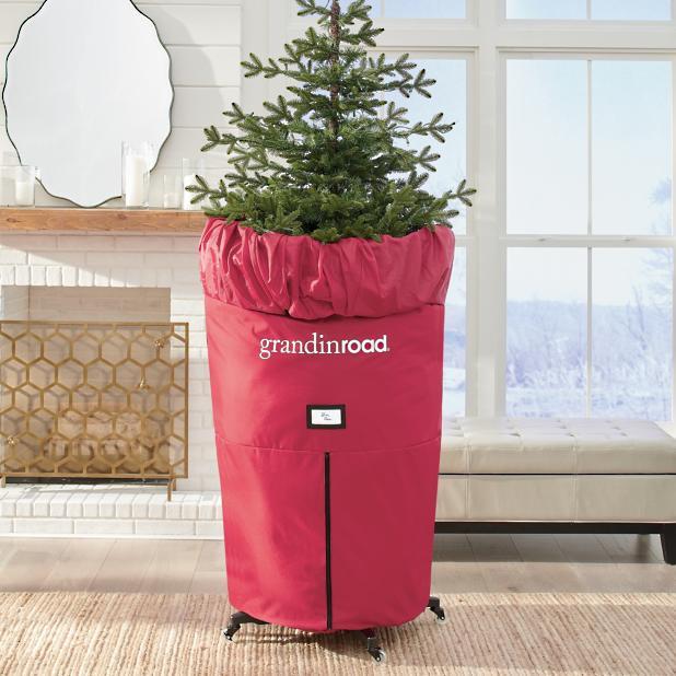 Christmas Tree Storage.Upright Slim Tree Storage