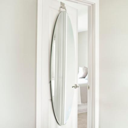 Over Door Beveled Door Mirror
