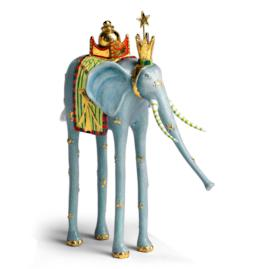 Elephant Magi Nativity Figure