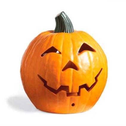 morphing halloween pumpkin
