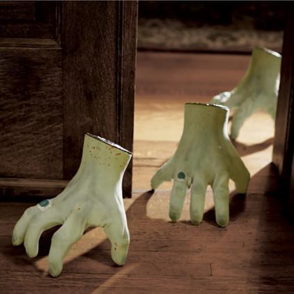 crawling halloween monster hand