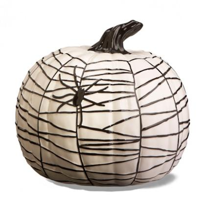 Miraculous Martha Stewart Black And White Ceramic Pumpkins Grandin Road Lamtechconsult Wood Chair Design Ideas Lamtechconsultcom