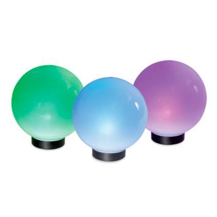 Solar Glowing Globes Grandin Road