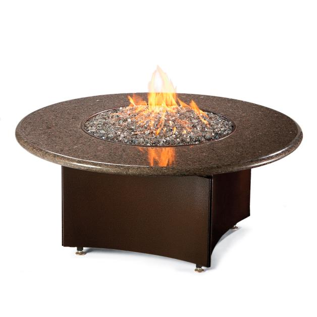 Oriflamme Fire Table with Swirl Burner - Oriflamme Fire Table With Swirl Burner Grandin Road