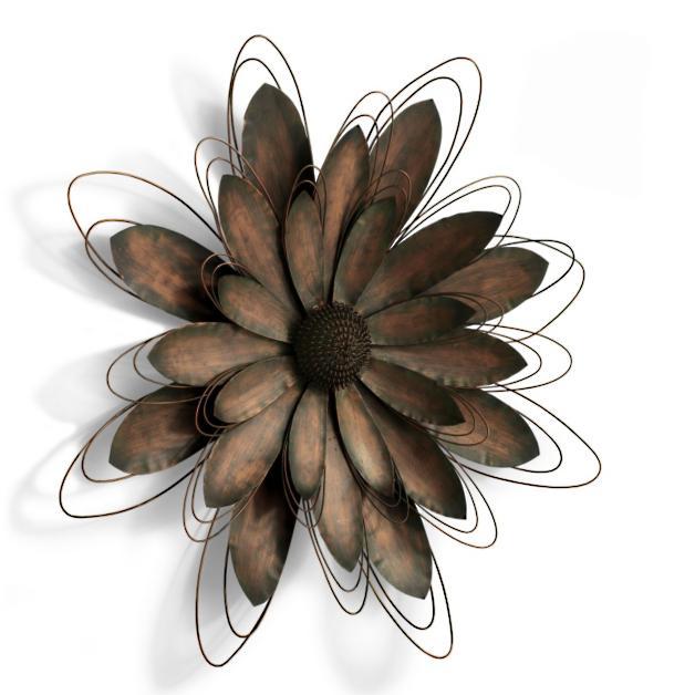 14171c2471e Metal Flower Artwork