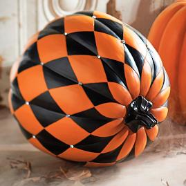 Jeweled Harlequin Pumpkin