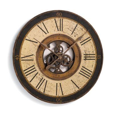 Brass Works Wall Clock Grandin Road
