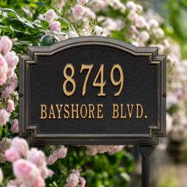 Williamsburg Address Plaques