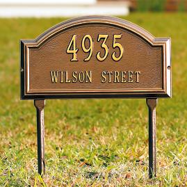 Providence All-Weather Address Plaques