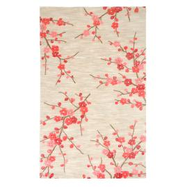 Cherry Blossom Clay Indoor Area Rug