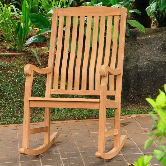 Teak Wood Rocking Chairs At Rs 4200 Piece Pokale Wasti Pune