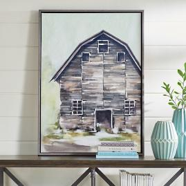 Hillside Barn Wall Art Collection