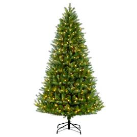Pre-lit Green Mountain Fir Tree